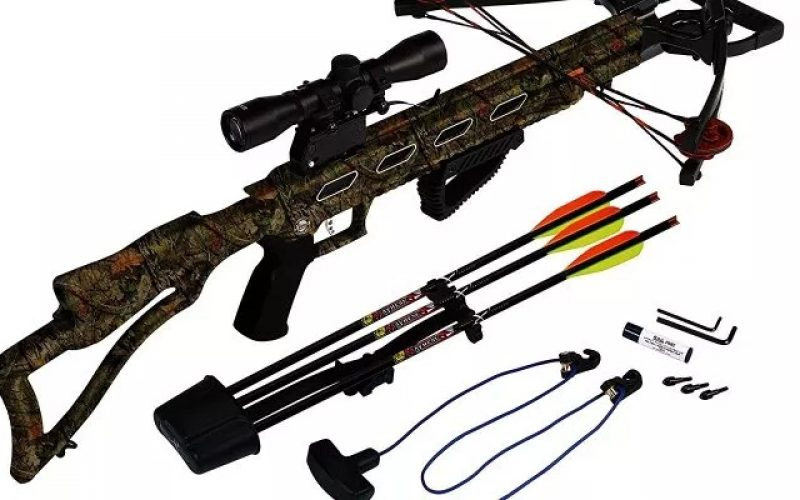 Best Crossbow On The Market Comes With Aluminum Arrows