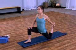 Easy to do right yoga exercise
