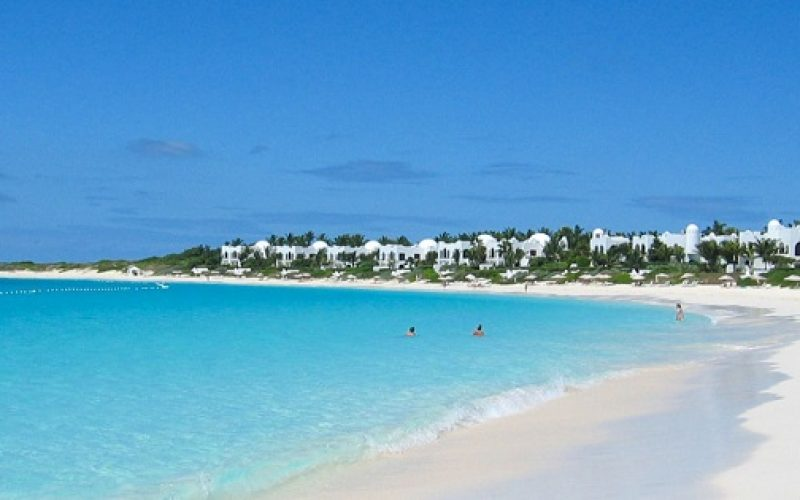 On and of fshore attractions of Anguilla island