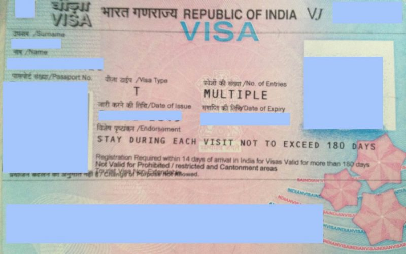 What are the requirements for filing an online application for Indian Visa?